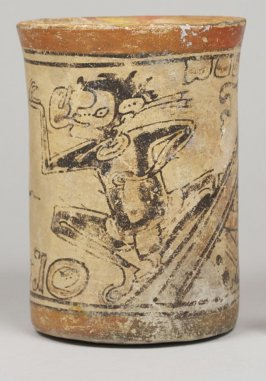 Codex-style Vase with Monkey and Mirror