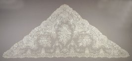 Shawl or Mantilla, lace