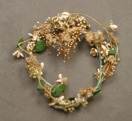 Flower hair ornament (probably from a wedding veil).