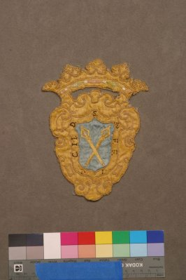 Embroidered ornament (matches 25588.11)