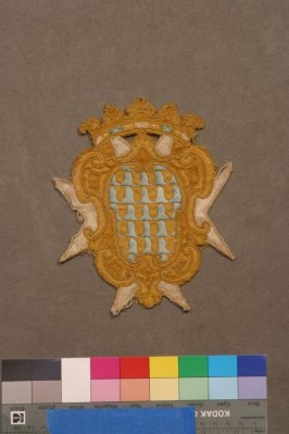 Embroidered ornament