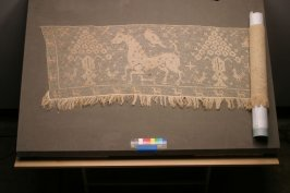 Net lace altar frontal