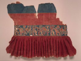 Fragment of a woman's dress