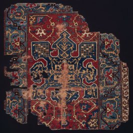 Fragment of a carpet