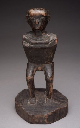 Male Seated on Stool, Household God (tinag-tagu)
