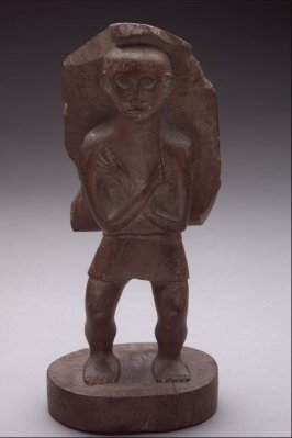 Standing Male Figure with Cape