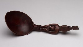 Spoon with Figural Handle