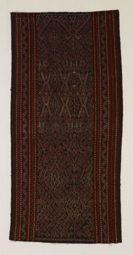 Woman's ceremonial skirt (kain sungkit)