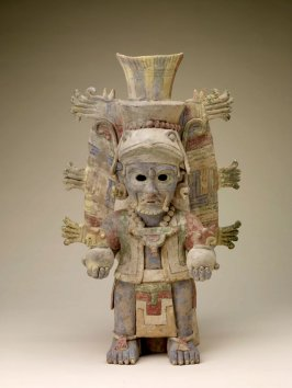 Effigy urn in the form of the Sun God
