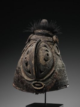 Basketry mask, Baba
