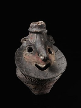 "Pottery head, personal name ""Hambos"""
