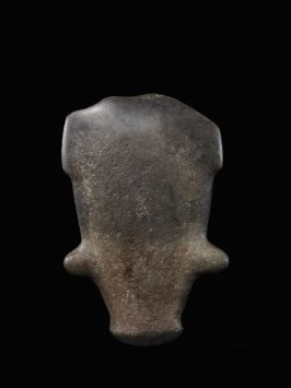 Stylized figure or ceremonial stone blade