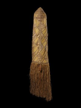 Woman's mourning costume, Kabu