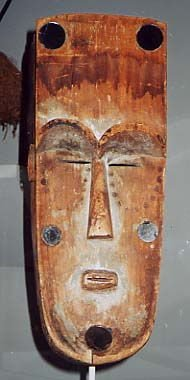 Mask for Ngil society