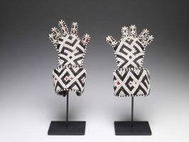 Pair of ceremonial gloves