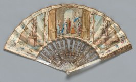 """Classical Wedding"" fan (a) and case (b)"