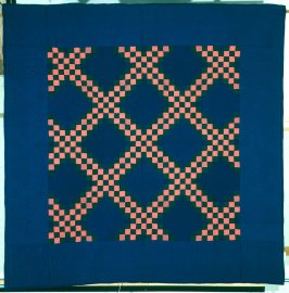 "Quilt: ""Triple Irish Chain"" pattern"