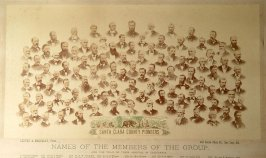 Group of 106 pioneers of Santa Clara Co.