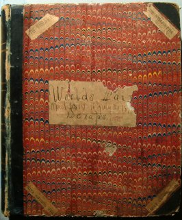 Scapbook of newspaper clippings relating to World's Columbian Exhibit from beginning to end of Exposition