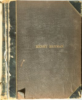 4 scrapbooks related to Henry Heyman