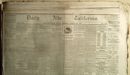 12 issues of Daily California, 1865