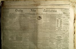 33 issues of Daily California, 1866