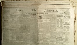 26 issues of Daily California, 1867