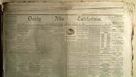 14 issues of Daily California, 1869