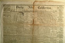 "Daily Alta California"" Wednesday, August 19, 1863"