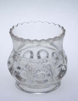 Toothpick holder - King's Crown pattern