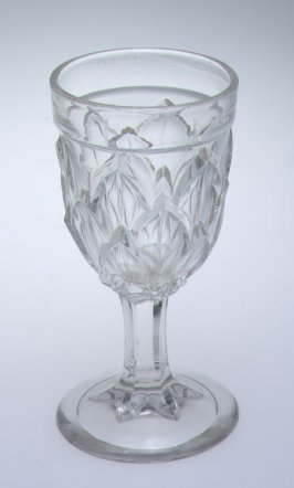Wine glass Laminated petals