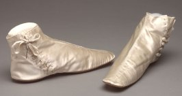 Pair of woman's wedding boots