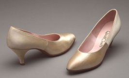 Pair of high-heeled shoes