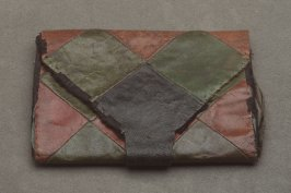 Pocketbook: patchwork leather