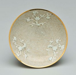French Porcelain Saucer