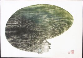 Untitled (Afro Woman Earring)