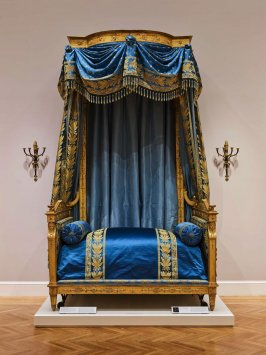 The Talleyrand Bed, State bed made for Charles-Maurice de Talleyrand-Périgord, prince de Bénévent (1754-1838)