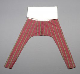 Pants (cerise and green)