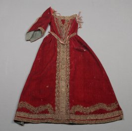 Partial child's or santos dress Donor No: 4956 Name: California Mid-Winter International Exposition