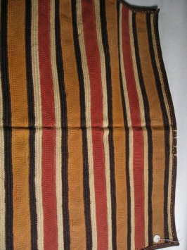 Mat with zig zags and stripes