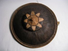 Basketry hat