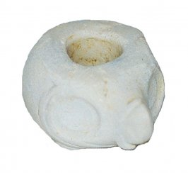 Ritual mace head in the form of an owl or parrot head