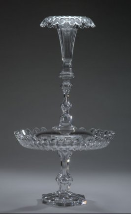 Epergne in four parts