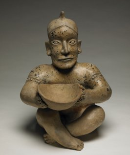 Seated Male Figure with Bowl