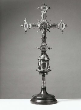 Processional cross with stand