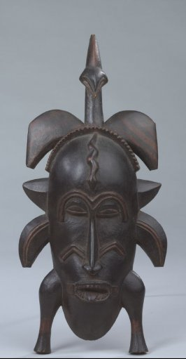 Mask with extended Tongue (Kpelle)