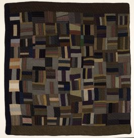 "Quilt: ""Rail Fences"""
