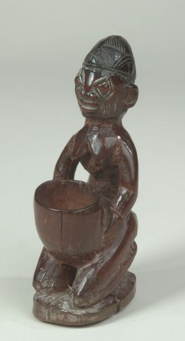 Kneeling Female Figure with Divination Bowl
