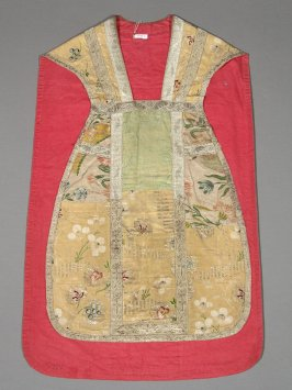 Chasuble (matches stole X1989.202, maniple X1989.207)