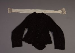 Jacket black and cravat (two pieces)